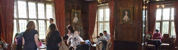 Visitors in the Oak Room 2012