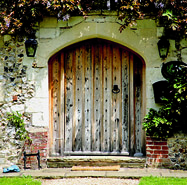 Chawton House Stables Door