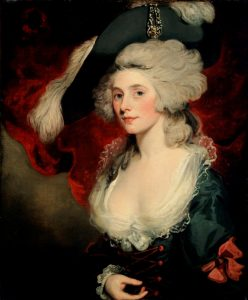 Mary Robinson by Hoppner