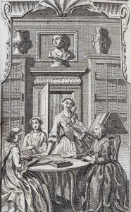 Image of Female Spectator frontispiece