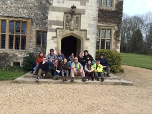 University of Southampton students at Chawton House Library.