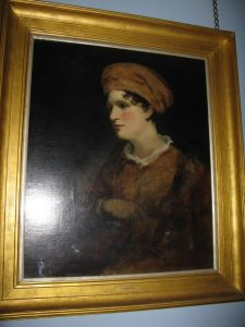 The portrait of Maria Graham that hangs in the Exhibition Room here at Chawton House Library.