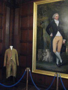 Edward Austen's silk suit?